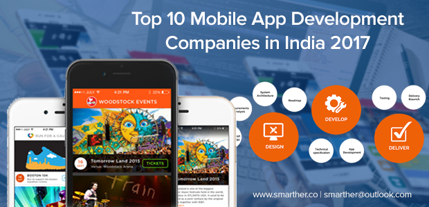 Top 10 Mobile App Development Companies In India 2017 Smarther